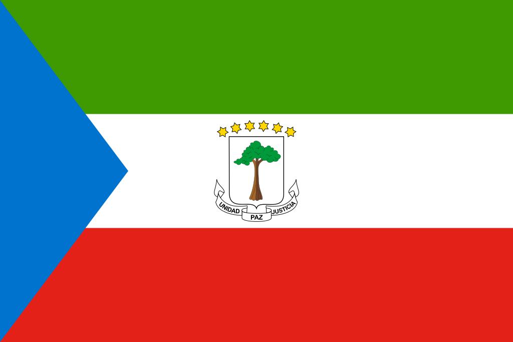 Bandera de Guinea-Equatorial