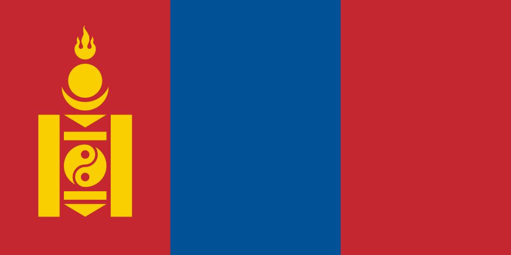 Bandera de Mongolia
