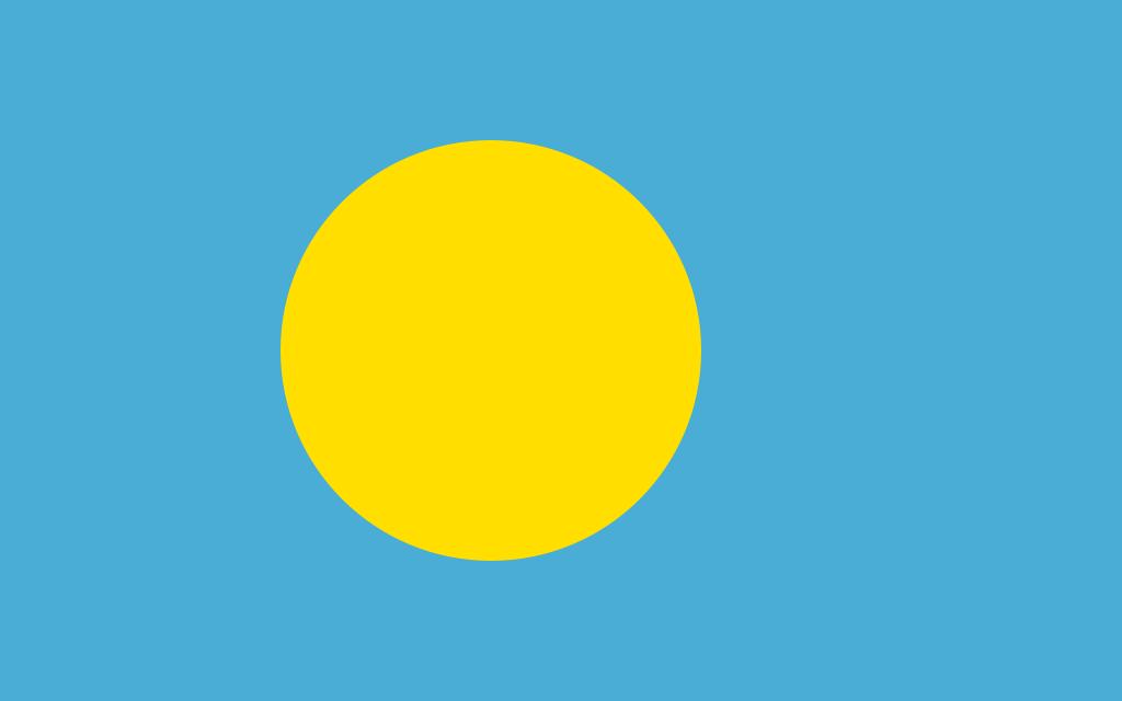 Bandera de Palaos