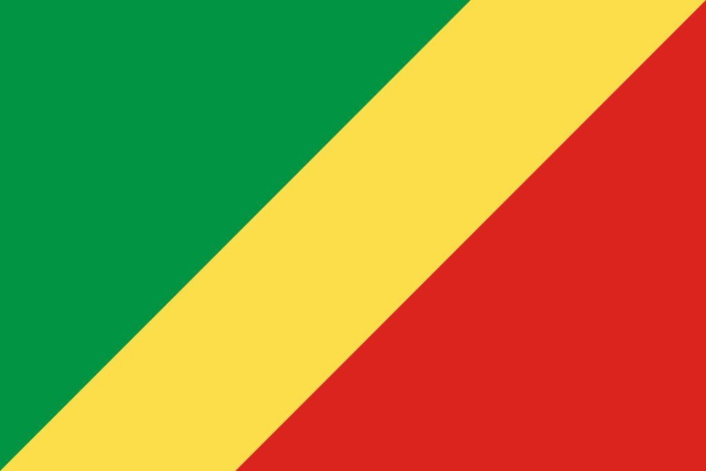 Bandera de República del Congo