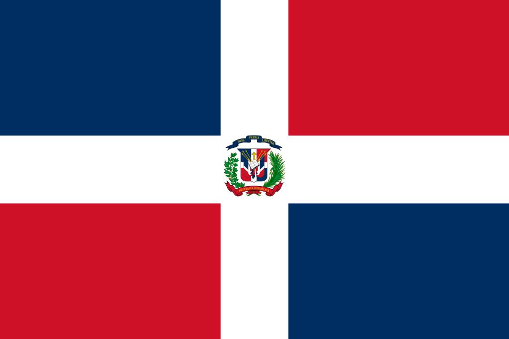 Bandera de República Dominicana