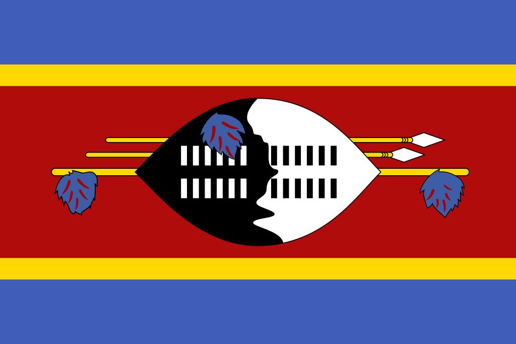 Bandera de Suazilandia