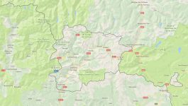Superficie del territorio de Andorra
