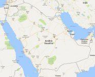 Superficie del territorio de Arabia Saudita
