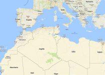 Superficie del territorio de Argelia