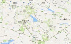 Superficie del territorio de Armenia