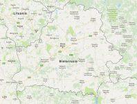 Superficie del territorio de Bielorrusia