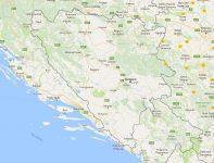 Superficie del territorio de Bosnia y Herzegovina