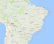 Superficie del territorio de Brasil