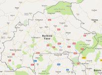 Superficie del territorio de Burkina Faso