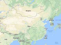 Superficie del territorio de China