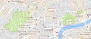 Superficie del territorio de Ciudad del Vaticano