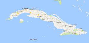 Superficie del territorio de Cuba