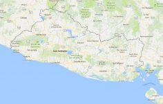 Superficie del territorio de El Salvador