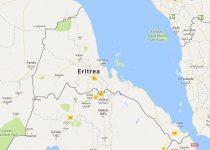 Superficie del territorio de Eritrea