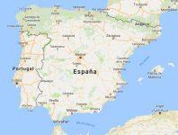 Superficie del territorio de España