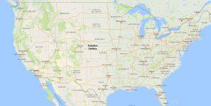 Superficie del territorio de los Estados Unidos