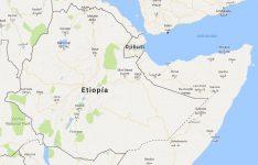 Superficie del territorio de Etiopía