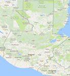 Superficie del territorio de Guatemala