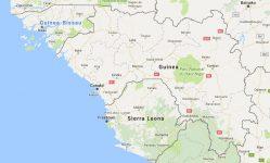 Superficie del territorio de Guinea