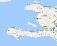 Superficie del territorio de Haití