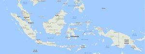 Superficie del territorio de Indonesia