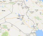 Superficie del territorio de Iraq