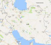Superficie del territorio de Irán