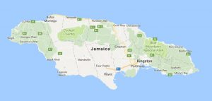 Superficie del territorio de Jamaica