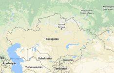Superficie del territorio de Kazajistan