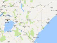 Superficie del territorio de  Kenia