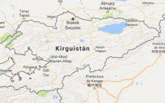 Superficie del territorio de Kirguistán