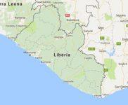 Superficie del territorio de Liberia