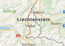 Superficie del territorio de Liechtenstein