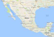 Superficie del territorio de México