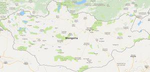 Superficie del territorio de Mongolia