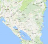 Superficie del territorio de Nicaragua
