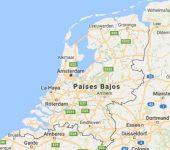 Superficie del territorio de los Países Bajos