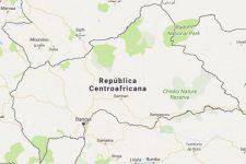 Superficie del territorio de la República Centroafricana