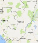 Superficie del territorio de la República del Congo