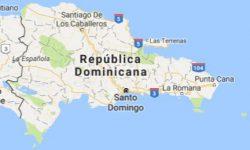 Superficie del territorio de la República Dominicana
