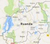 Superficie del territorio de Ruanda