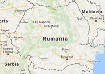 Superficie del territorio de Rumanía