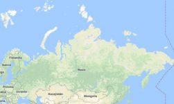 Superficie del territorio de Rusia