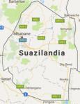 Superficie del territorio de Suazilandia