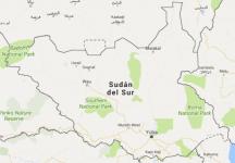 Superficie del territorio de Sudán del Sur
