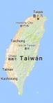 Superficie del territorio de Taiwan