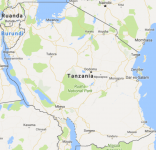 Superficie del territorio de Tanzania