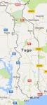 Superficie del territorio de Togo
