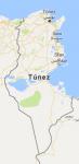 Superficie del territorio de Tunez